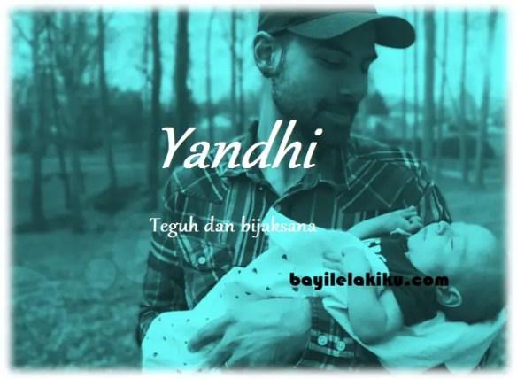 arti nama Yandhi