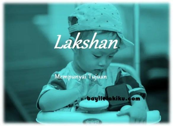 arti nama lakshan