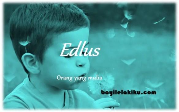 arti nama Edlus