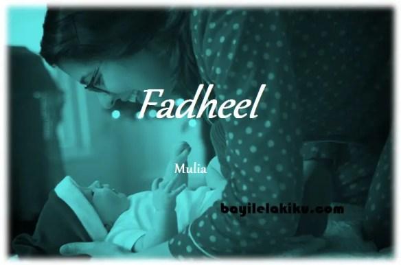 arti nama Fadheel