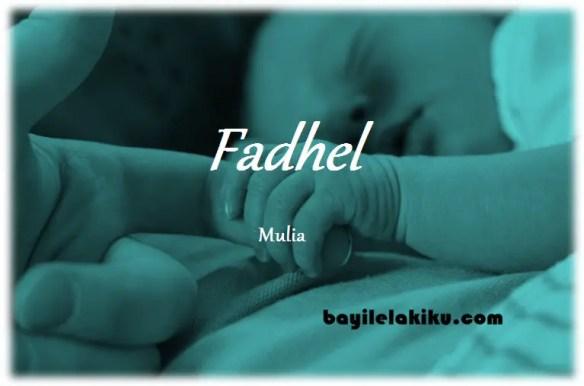 arti nama Fadhel