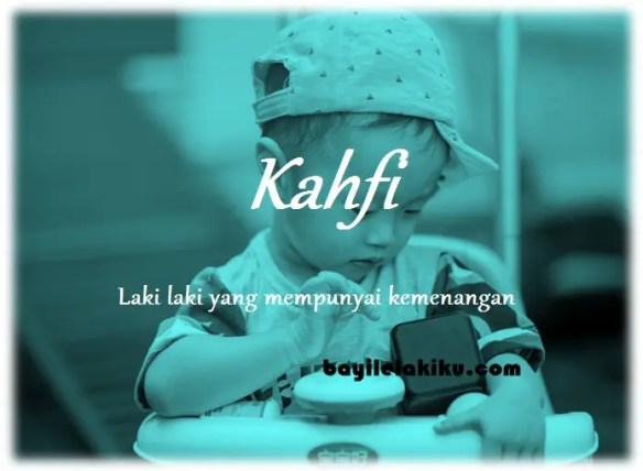 arti nama Kahfi