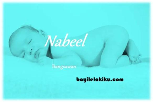 arti nama Nabeel