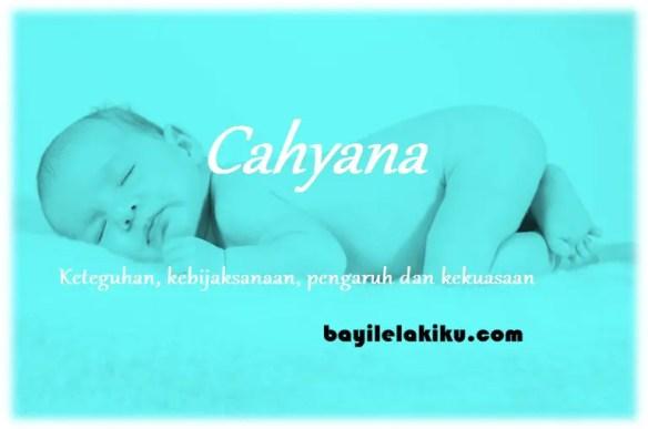 arti nama cahyana