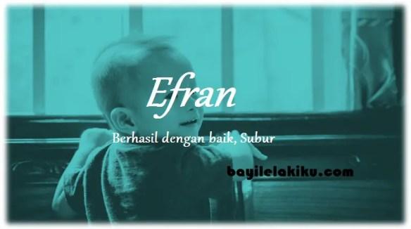 arti nama Efran