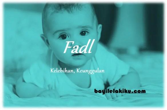 arti nama Fadl