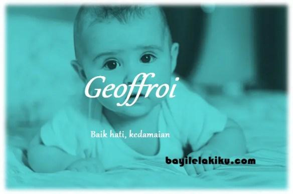 arti nama Geoffroi