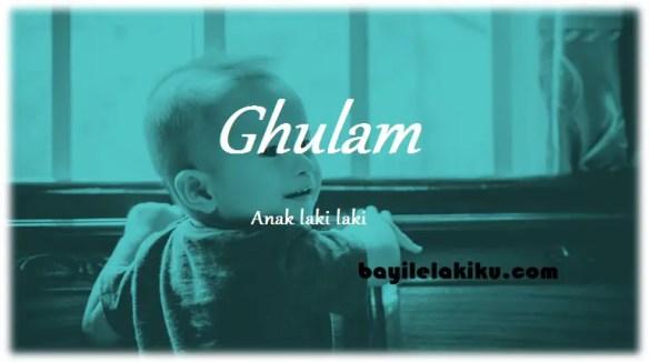 arti nama Ghulam