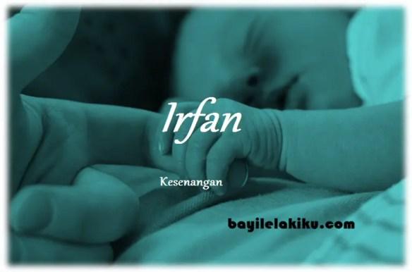 arti nama Irfan