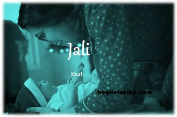 arti nama Jali