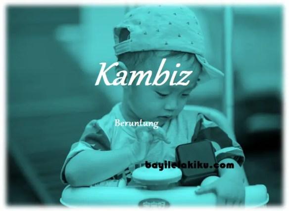 arti nama Kambiz
