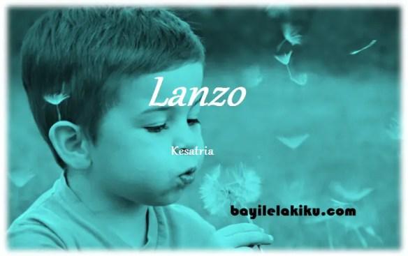 arti nama Lanzo