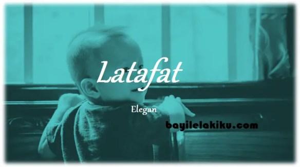 arti nama Latafat