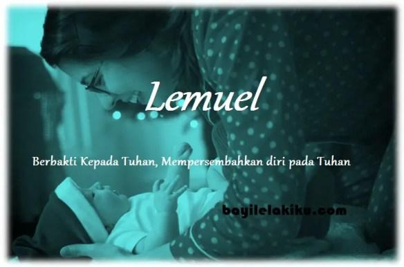 arti nama Lemuel