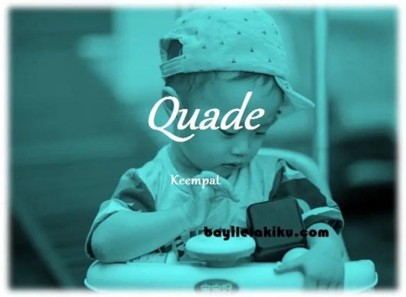 arti nama Quade