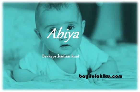 arti nama Abiya