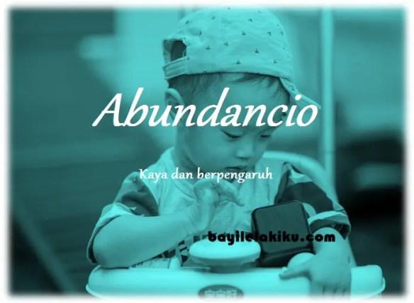 arti nama Abundancio