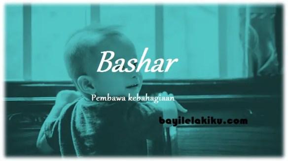 arti nama Bashar