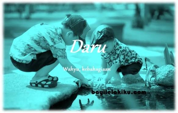 arti nama Daru