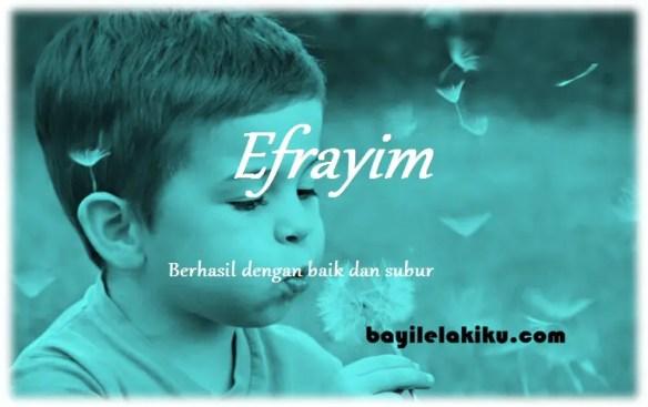 arti nama Efrayim