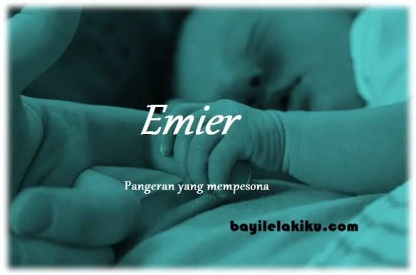 arti nama Emier