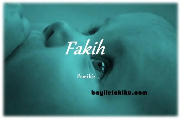 arti nama Fakih