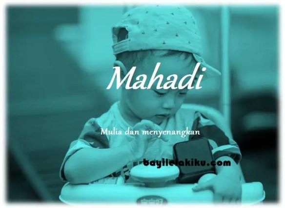 arti nama Mahadi