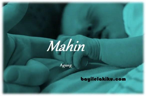 arti nama Mahin
