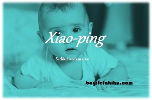 arti nama Xiao-ping