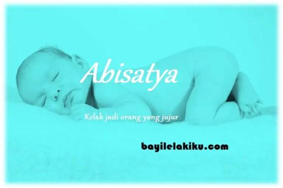 arti nama Abisatya