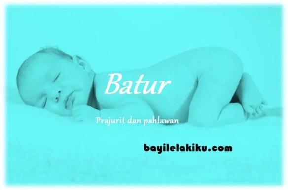 arti nama Batur