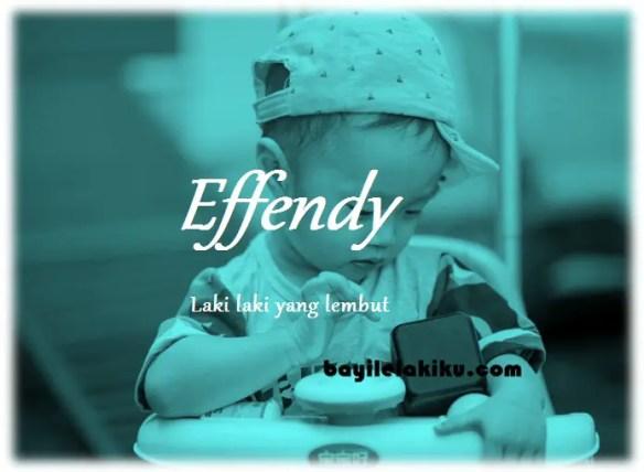 arti nama Effendy