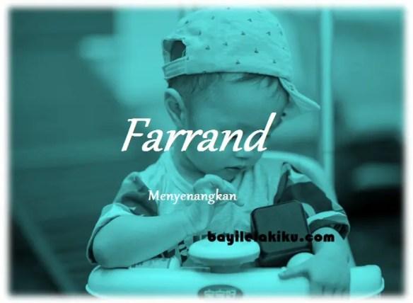 arti nama Farrand