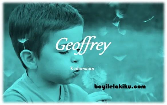 arti nama Geoffrey