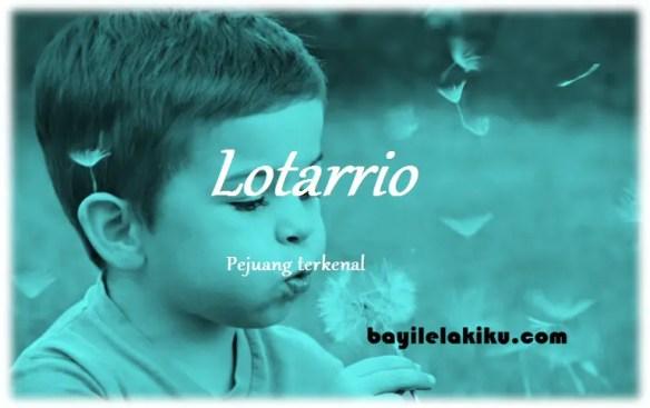 arti nama Lotarrio