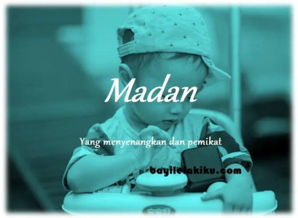 arti nama Madan