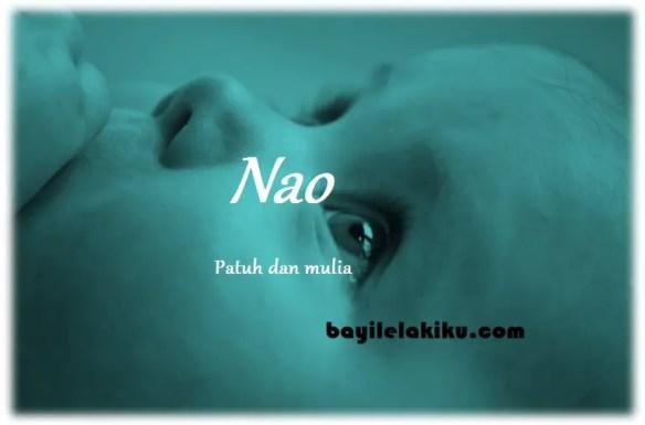 arti nama Nao
