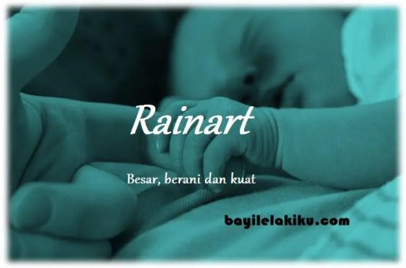 arti nama Rainart