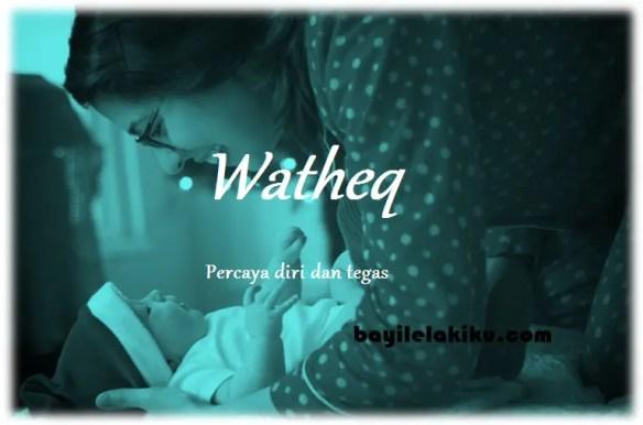 arti nama Watheq