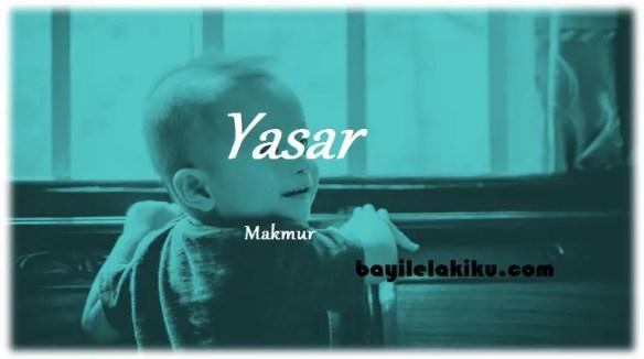 arti nama Yasar