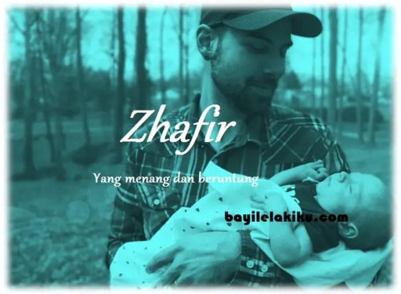 arti nama Zhafir