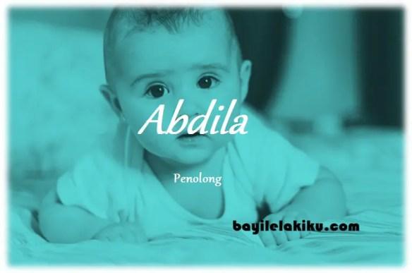 arti nama Abdila
