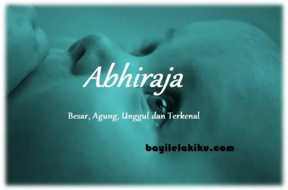 arti nama Abhiraja