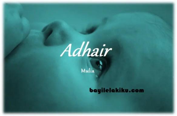 arti nama Adhair