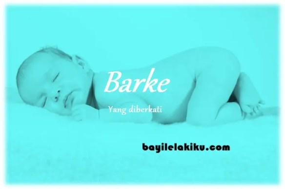 arti nama Barke