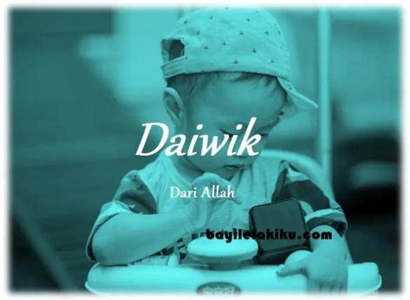 arti nama Daiwik
