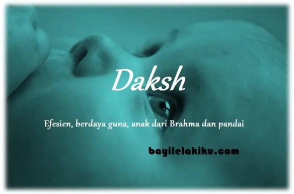 arti nama Daksh