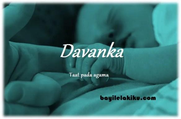 arti nama Davanka