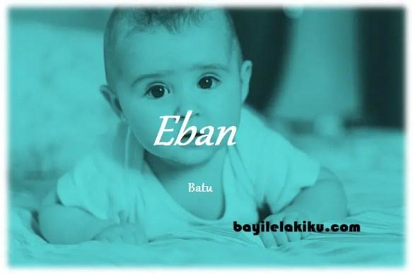 arti nama Eban