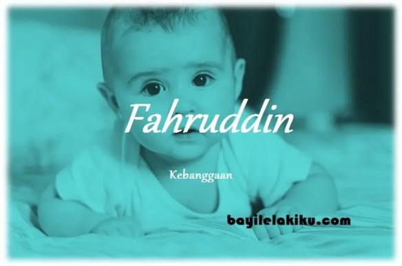 arti nama Fahruddin